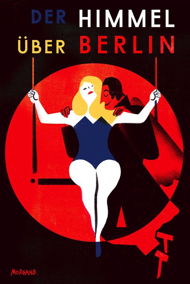 Der Himmel über Berlin(Les Ailes du désir)  -1987- directed by Wim Wenders.