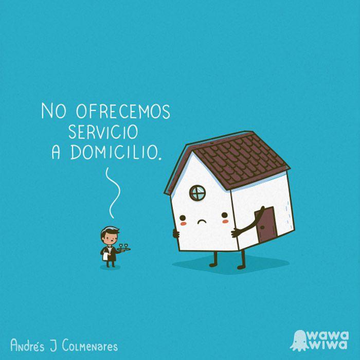 No ofrecemos servicio a domicilio