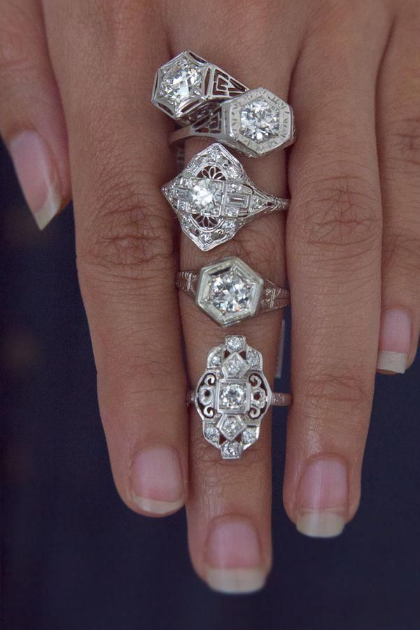 # diamondringsvintage1920s #Verlobung #Hochzeit #Vintage #Antike