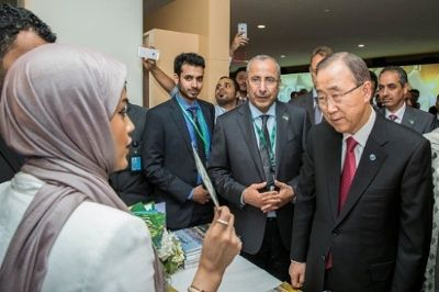 Ban Ki-moon Visits the Virtual Future of Riyadh; Shura Council Member Saudi Women Will Shatter Existing Stereotypes - PR Newswire (press release)