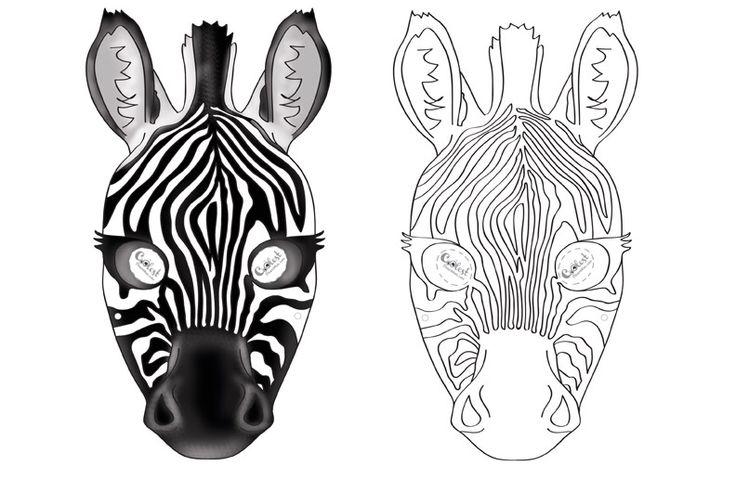 Printable Zebra Mask Coolest Free Printables