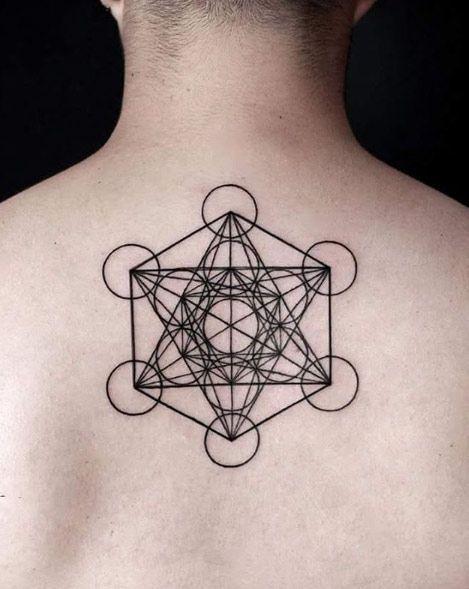 Scared Geometry Tattoo Design by Juan Rendon