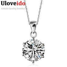 Nova Colgantes Collares Mujer colar pingente de prata com Cameo CZ diamante rubi Pingentes jóias suspensão 49% Off Collar N321(China (Mainland))