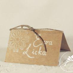 winietka winter wedding invitation rustic blue DIY handmade love zimowe wesele zaproszenia ślubne moje wielkie wiejskie wesele