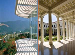 J. Paul Getty Museum (Ghetty Villa), Pacific Palisades, CA