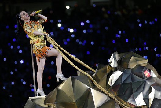 Katy Perry's Outrageous Super Bowl Halftime Show