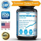 Best Testosterone Booster Supplement for Men  TESTOSTERONE BSTRx  Testosterone enhancement for Best Muscle Growth and Recovery Time with Tribulus Terrestris  6 Weeks Cycle  Made in USA