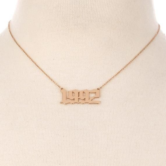 Pin On Gold Necklace