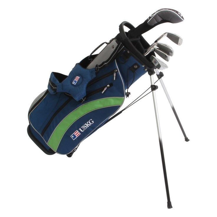 US Kids Golf UltraLight UL57 5 Club Set with Stand Bag - Golf Clubs - Puetz Golf