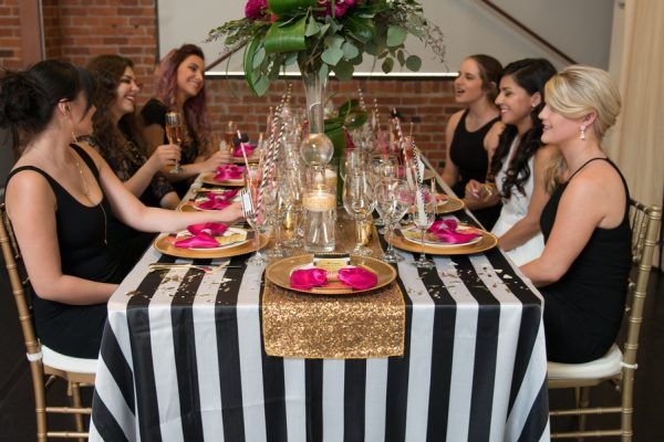 Kate Spade Bridal Shower by Winsome Taylor Events - TrueBlu