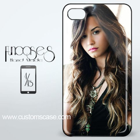 Beautiful Sexy Demi Lovato iPhone 4 or 4S Case Cover from Funcases