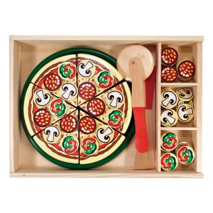 Great gift for Kids - Melissa and Doug Pizza Party Play Food Set