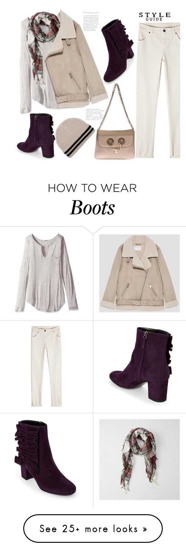"""""""Winter White"""" by badassbabyboomer on Polyvore featuring LAmade, Abercrombie & Fitch, Jakke, Zadig & Voltaire and Brunello Cucinelli"""