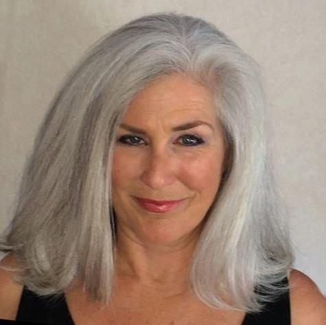 Hairstyles For Gray Hair Entrancing 83 Best Gray Wavy Coarse Hair Cuts Images On Pinterest  Grey Hair