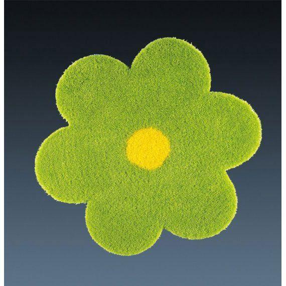 Ковер салатовый в виде цветка Daisy #carpet #carpets #rugs #rug #interior #designer #ковер #ковры #дизайн  #marqis