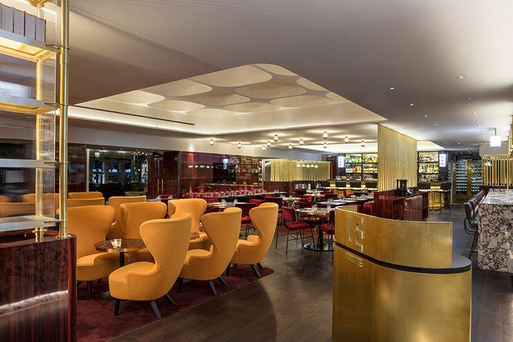 Http Www Designboom Com Wp Content Uploads 2017 06 Tom Dixon Le Drugstore Paris Designboom 08 Jpg Luxury Restaurant Paris Design Modern Restaurant