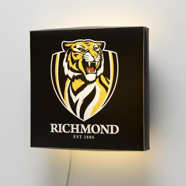 AFL Richmond FC Wall Lamp #walllamps