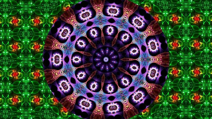 Flovers Fractals - Kaleidoscope in Kaleidoscope