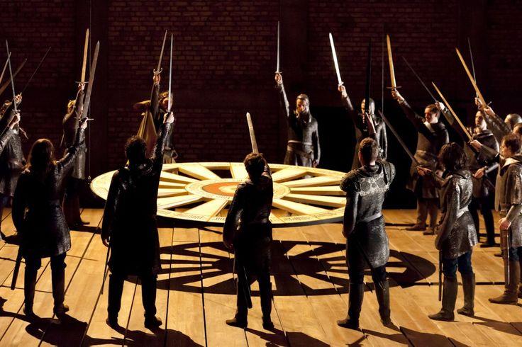 Graal #théâtre avec #Perceval le gallois ou l'#ange déchu | L'actualité de Lunesoleil