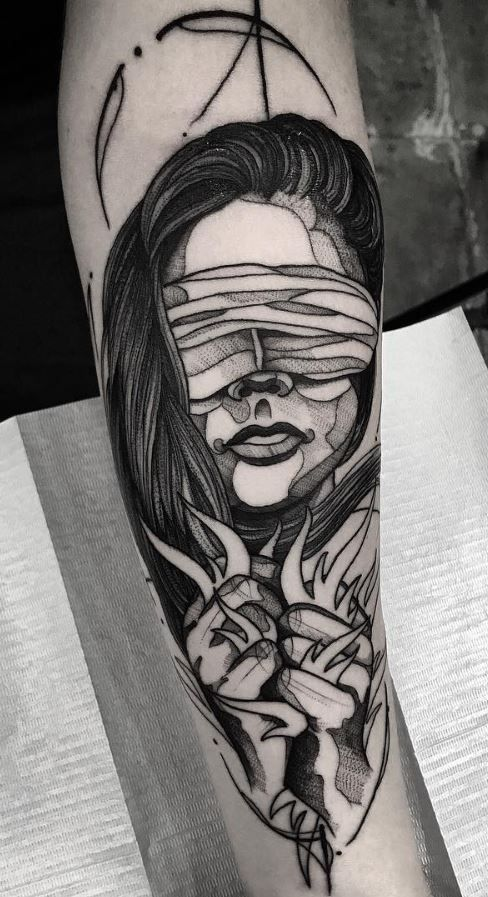Blinded Fire Tattoo