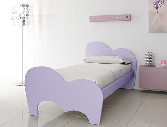 #Arredamento #Cameretta Moretti Compact: Catalogo Start Solutions 2013 >> LH35 #letto Air laccato lavanda #comodino #Wallbox sospeso laccato mora #anta ribalta http://www.moretticompact.it/start.htm