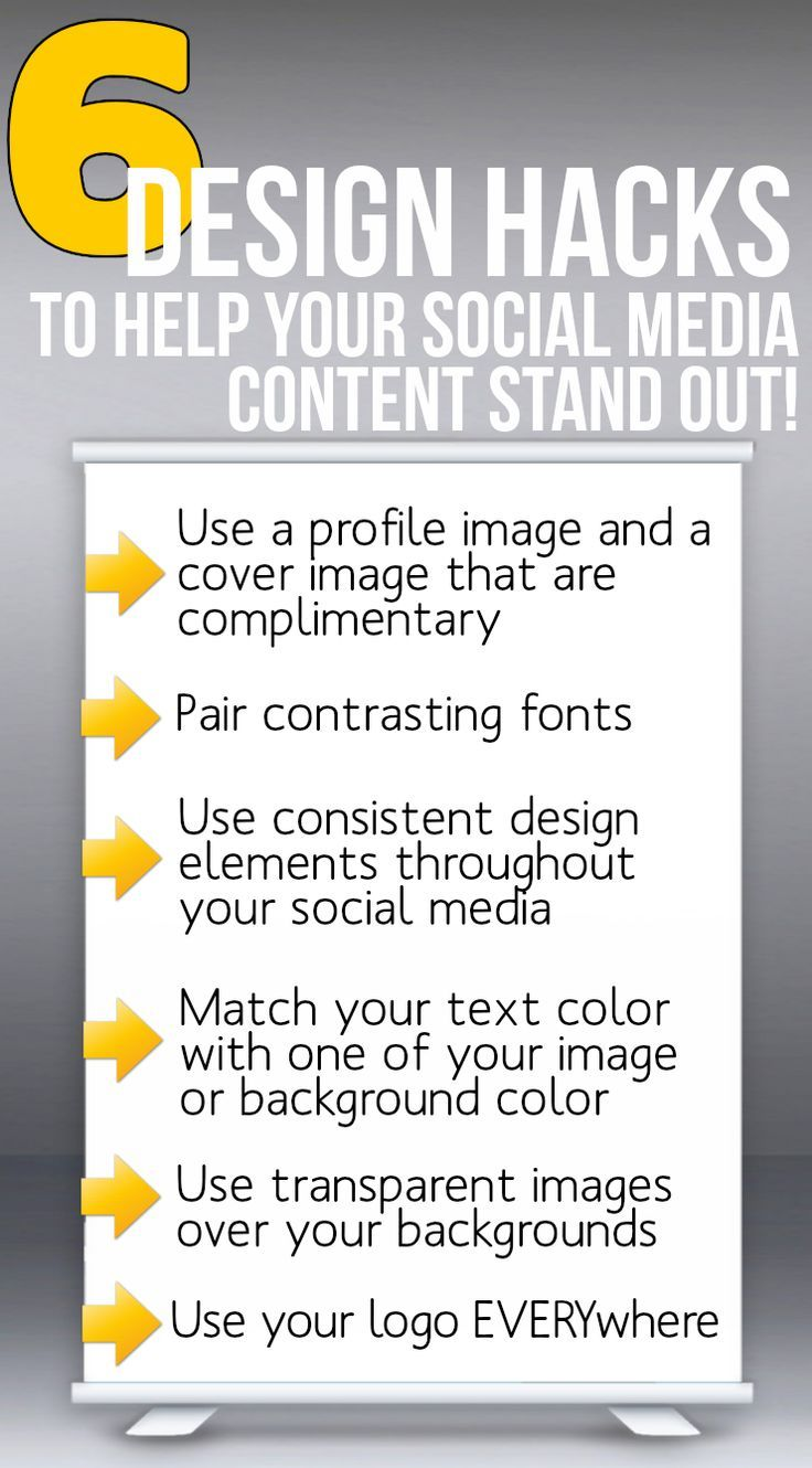 Social Media Design: 6 Design Hacks to help your social content stand out. Read to see our visual content examples