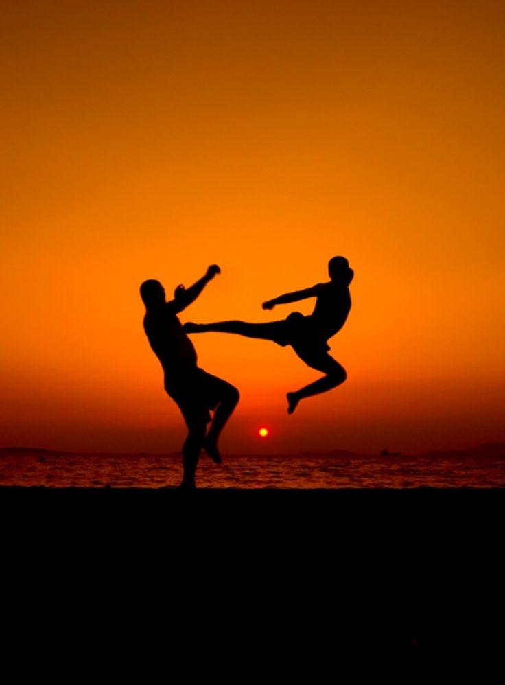 Combate en playa