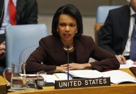 """Like Cheney did in his book, """"In My Time,"""" Rice spoke about her own experiences with the media. She said that media reports saying that Don Rumsfeld refused to return her phone calls were not true. """"I would not have put up with that, and neither would the President,"""" she wrote"""