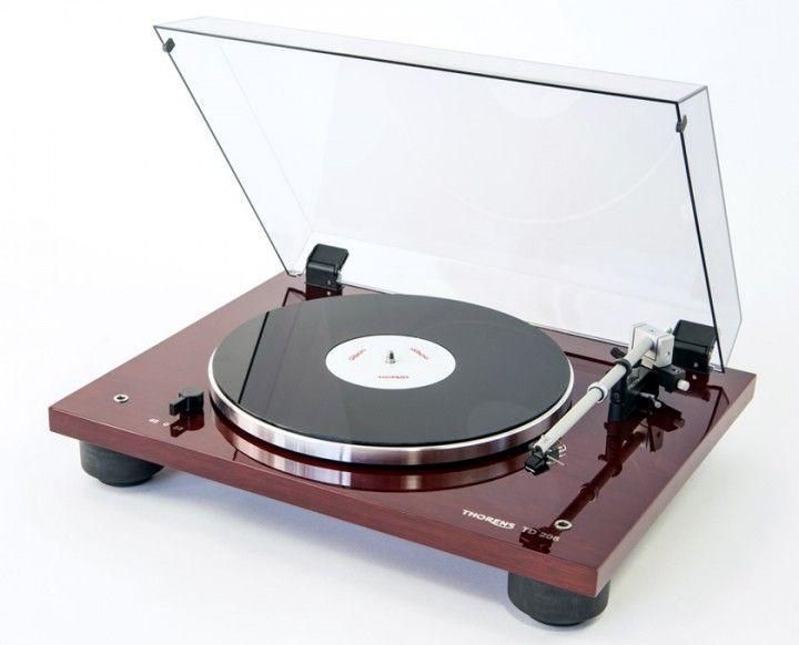 Thorens TD 206 Plattenspieler kaufen   FONO.DE