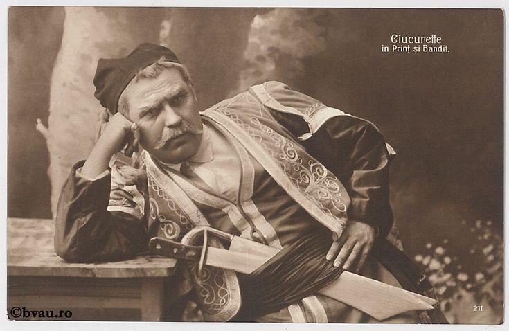"""Ciucurette în """"Prinț și bandit"""", Bucureşti. Imagine din colecțiile Bibliotecii """"V.A. Urechia"""" Galați."""