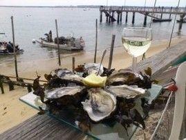 Бордо - это не только красные и белые вина, знаменитые на весь мир :) Но и удивительный Залив - Аркашон, который по праву считают устричным раем !