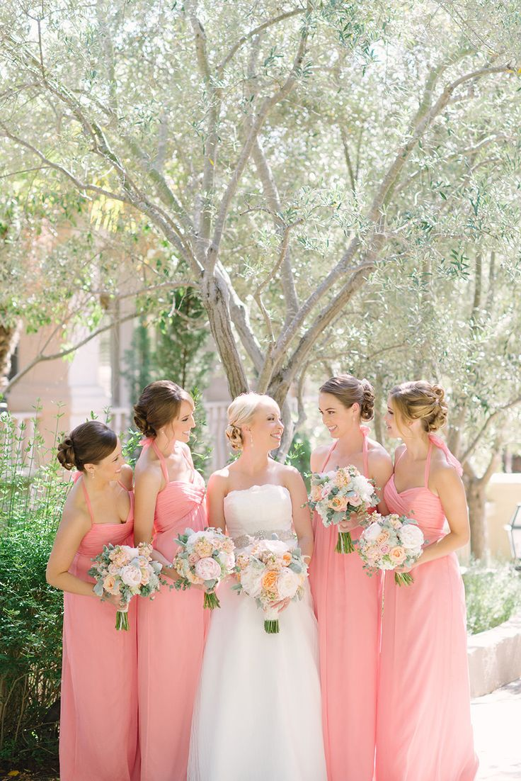189 best amsale bridesmaids images on pinterest bridesmaids g426c in guava crinkle silk chiffon romantic wedding at rancho bernardo inn read more http ombrellifo Images