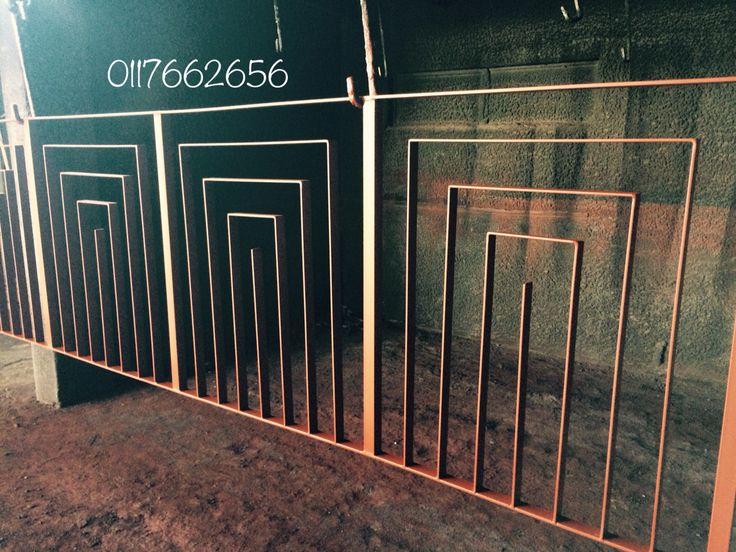 Art Deco handrails