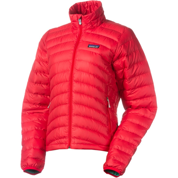 Patagonia Down Sweater Jacket - Women's | Backcountry.com.  RED $200 :)