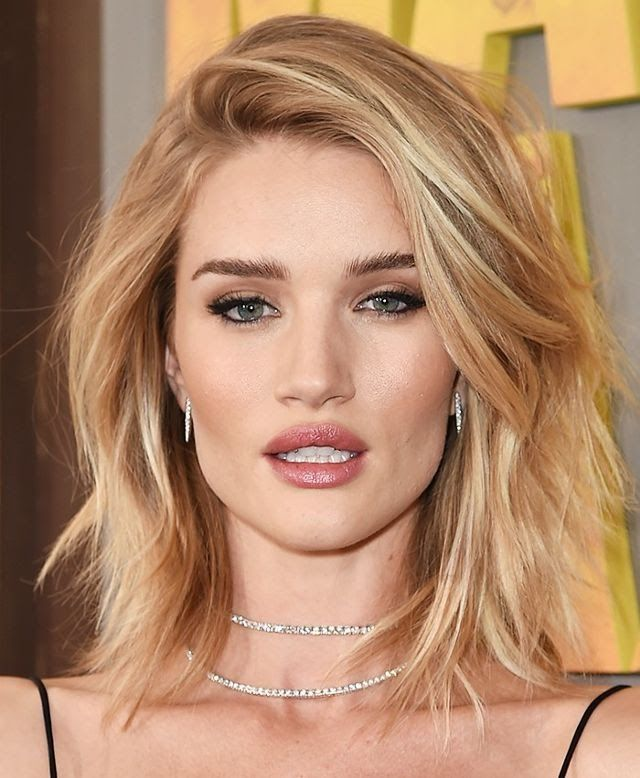 thin hair layered haircuts rosie huntington whiteley hairstyle for thin hair hair 5332