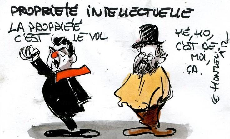 La propriété intellectuelle vue par les libertariens (libéraux radicaux)