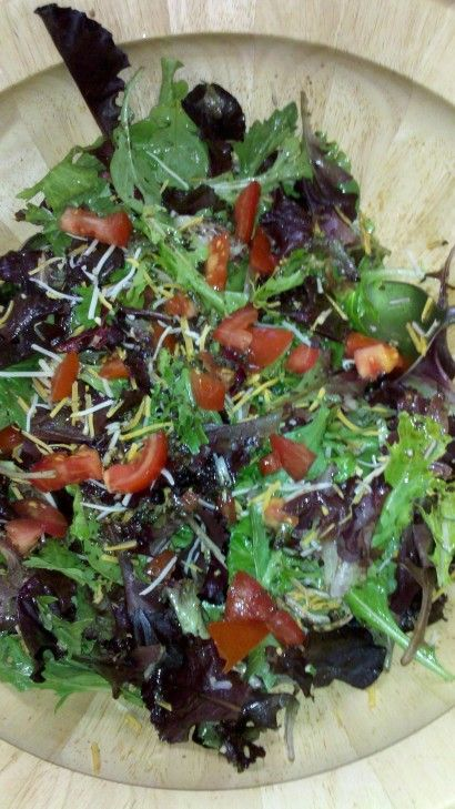 Balsamic Spring Mix Salad | Tasty Kitchen: A Happy Recipe Community!