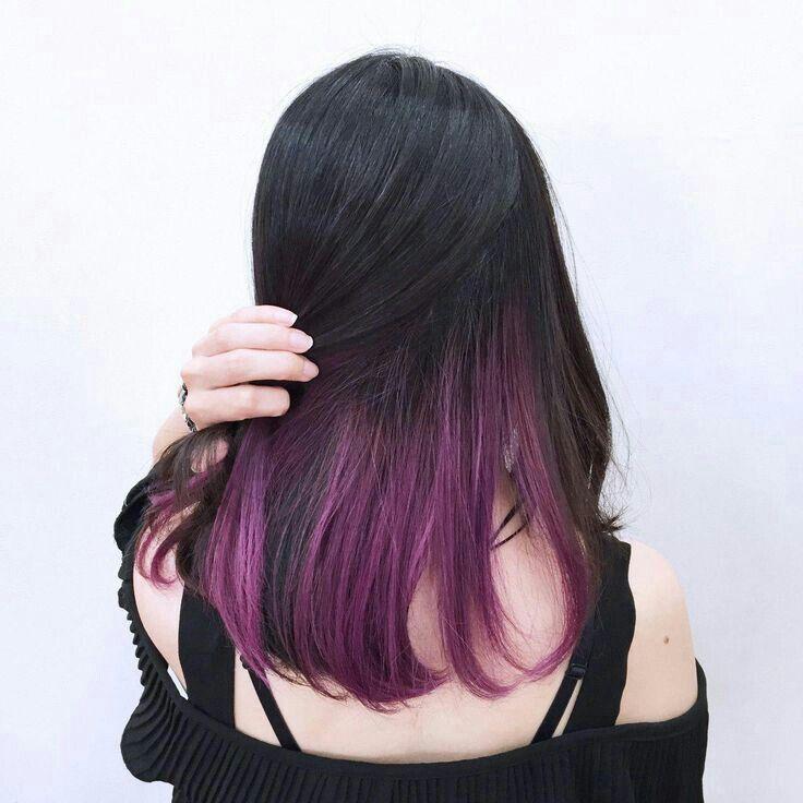 Pin By D R On Cute Hair Hidden Hair Color Hair Color Underneath Peekaboo Hair