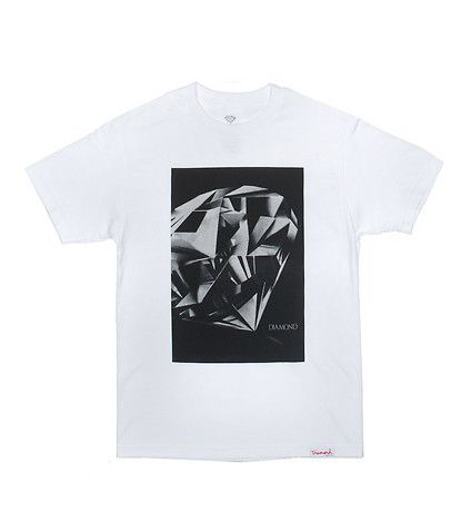 DIAMOND SUPPLY COMPANY DIAMOND CUT TEE-ZFUX1T8M