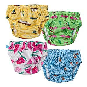 These swim diapers are so much more comfortable for little ones! Eco and Organic Summer Essentials for Baby: The Honest Company Swim Diapers