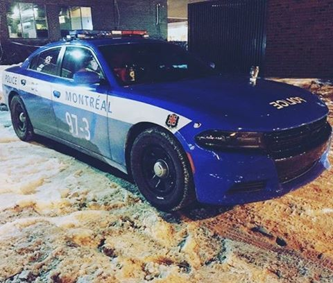 1 out of 4 Montreal Police 175th anniversary cars Repost @emergency_canada