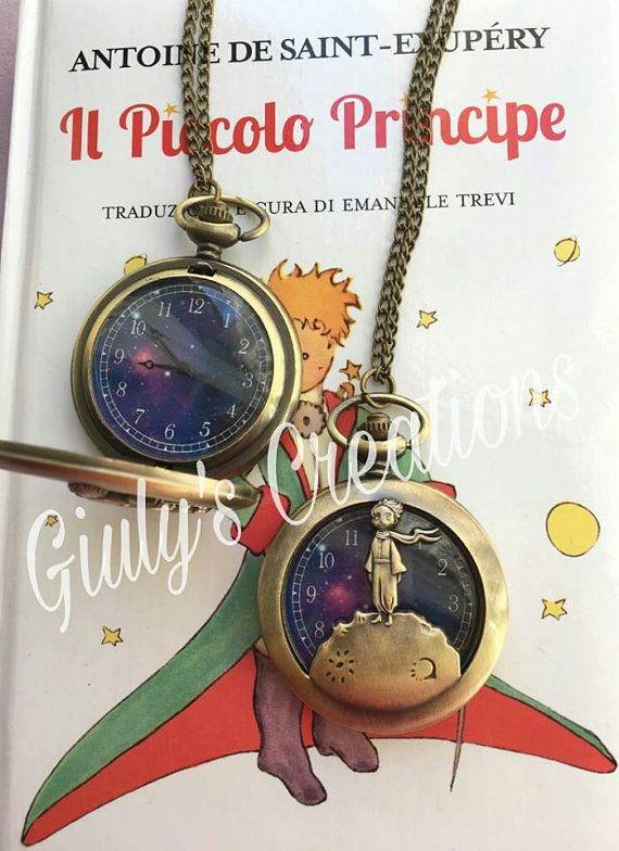 Collana orologio IL PICCOLO PRINCIPE le di GiulysCreationshop