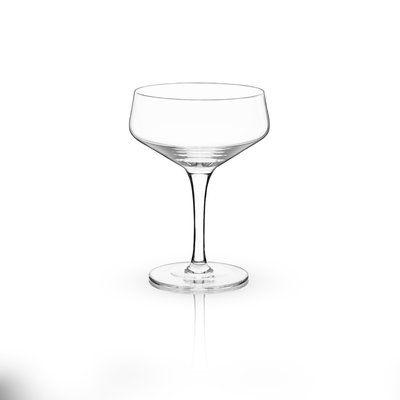 Viski Raye™ Crystal 7 oz. Coupe Glass