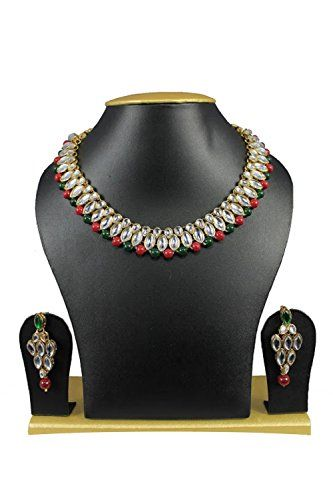 Traditional Gold Plated Red Green Pearls White Stones Kun... https://www.amazon.com/dp/B01J7D743G/ref=cm_sw_r_pi_dp_x_tHPRybX48CR31