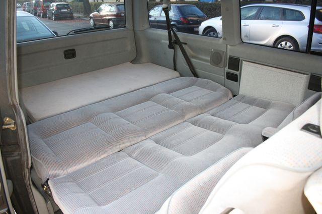 vw caravelle sleep pack bed flat camper bus. Black Bedroom Furniture Sets. Home Design Ideas
