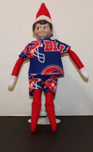Handmade-Boyl-ELF-DOLL-Clothes-NFL-Bills-Football-CLOTHES-ONLY