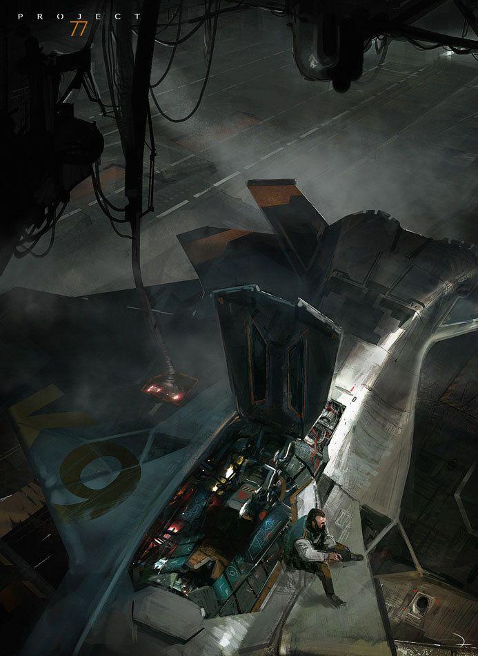 Project 77 Concept Art, Martin Deschambault on ArtStation at http://www.artstation.com/artwork/project-77-concept-art-58400f63-faa2-4f9e-96e5-30f855c4777d