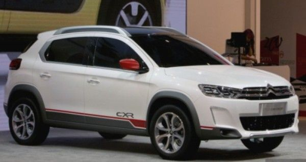 2014 Citroen C XR sport car release in auto show 600x318 2014 Citroen C XR Review, Specification, Price with Images