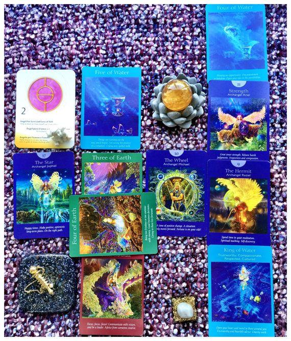In-Depth Tarot Reading  Pendulum Reading  Ask as by AngelsandTarot
