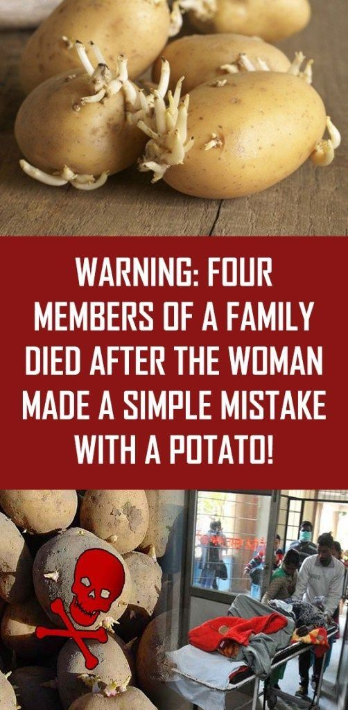 Warning Four Members Of A Family Died After The Woman Made Simple Mistake With Potato